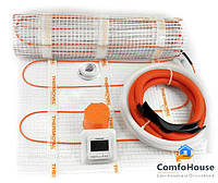 Готовый комплект электрического теплого пола  THERMOVAL MASTERBOX (ДАТЧИК TVT 04) 5,0 М.КВ