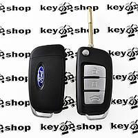 Корпус выкидного ключа для Ford (Форд), 3 - кнопки, лезвие FO21, (под переделку)