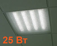 Растровый 25Вт офисный LED-светильник LED-EL-01-25-60duris