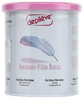 Воск пленочный для интимной депиляции и бикини-дизайна 800 г - DEPILEVE INTIMATE FILM WAX CAN