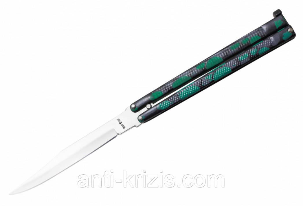 Нож балисонг 935 camo(бабочка)+документ что не ХО!