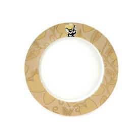 Набор круглых обеденных тарелок ORIGINAL BergHOFF Lover by Lover 21.5 см 4 шт (3800013)