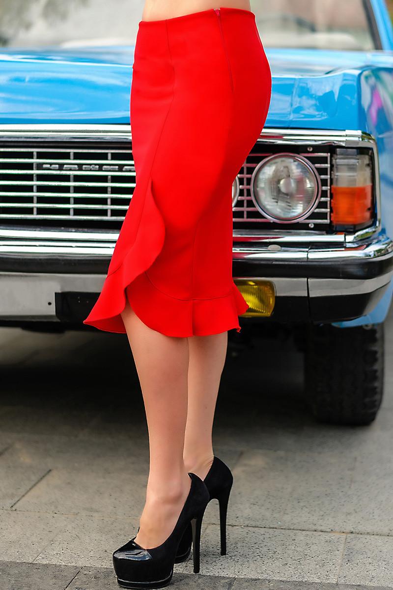 "Красная юбки ""Сабрина"""