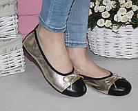 Кожаные балетки Chanel , фото 1