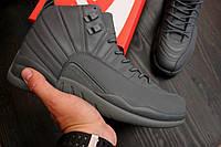 Кроссовки мужские повседневные Nike Air Jordan Full Black (найк эир джордан, реплика)