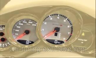 MANSORY speedometer display for Porsche Macan