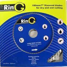 Круг алмазный 115*7*22.2 турбоволна (диск турбированный) RING