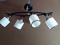 Люстра потолочная на четыре 4 плафона 2445, фото 1