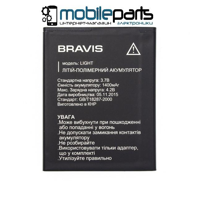 Оригинальный аккумулятор АКБ (Батарея) BRAVIS LIGHT 1400mAh