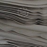 Молния рулонная светло-серого цвета, Т3 (метражом)