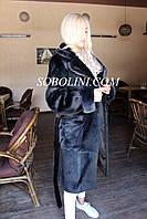 Пальто женское из меха нутрии, фото 1