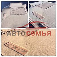 Ковры текстиль Mazda 3 2003-2009 (Fortuna беж гель флок) (5шт/комп)