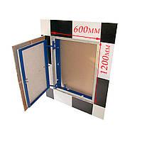 Ревизионные люки под плитку нажимные ФРН 60х120