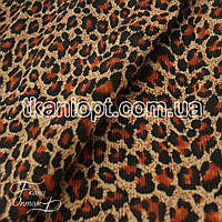 Ткань Вельвет (леопард)