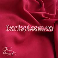 Ткань Костюмная ткань креп (малиновый)