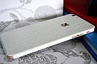 """Виниловая наклейка """"Белая кожа крокодила"""" Iphone 6 PLUS / 6S PLUS (0,2 mm)"""