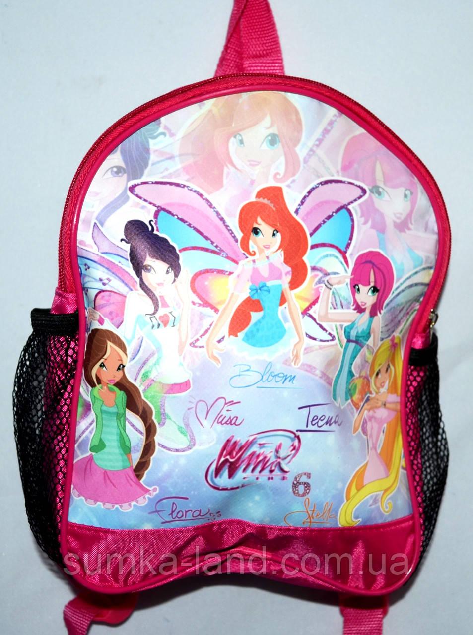 Детский школьный рюкзак для девочек 22*29 (эльфы)