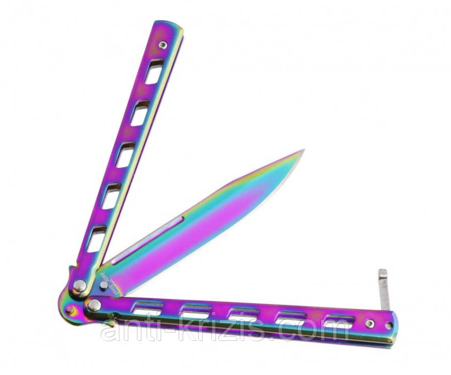 Нож балисонг 1026 T(бабочка)+подарок+документ что не ХО!