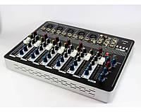 Аудио микшер Mixer BT-7000 4ch (микшерный пульт, аудиомикшер)