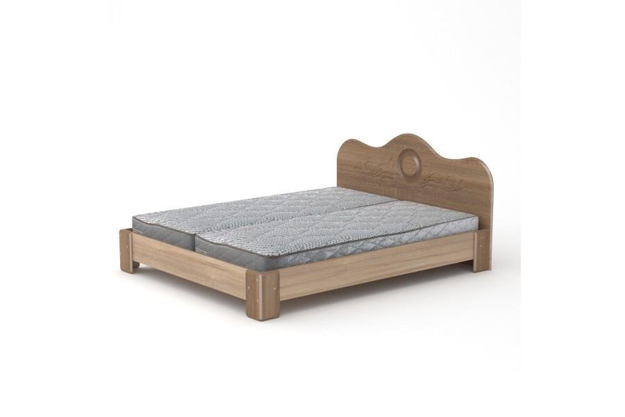 Двуспальная кровать 170 МДФ Компанит , фото 1
