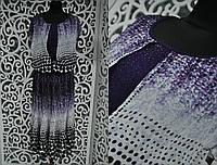 """Приятное женское платье с накидкой """"шифон на подкладке"""" 50, 52, 56, 58 размер баталы"""