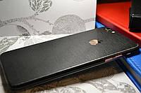 """Виниловая наклейка """"Чёрный металл"""" Iphone 6 PLUS / 6S PLUS (0,09 mm)"""