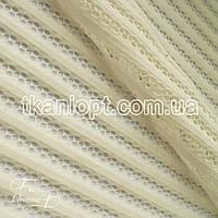 Ткань Сетка неопрен (кремовый)