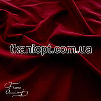 Ткань Софт стрейч (бордовый)