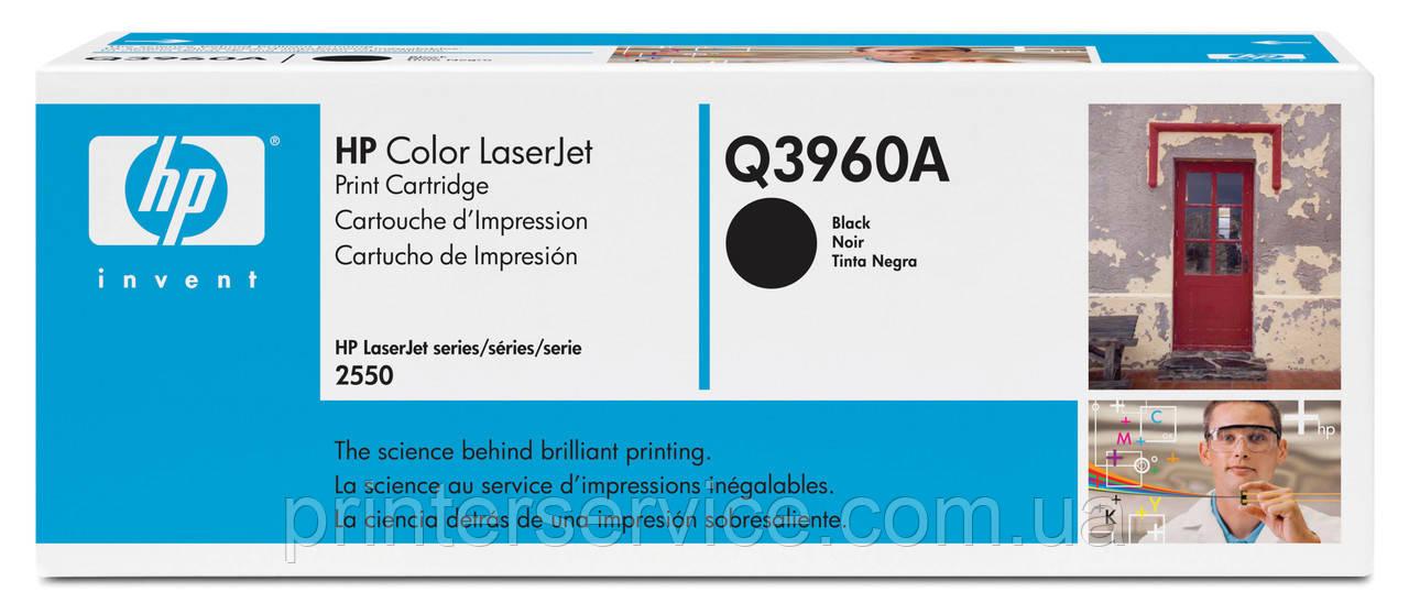 HP Q3960A (122A) black для CLJ 2550/2820/2840 series