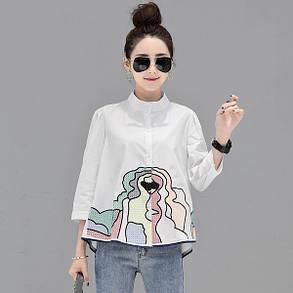 Рубашка свободная , фото 2
