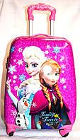 Детскийй дорожный чемодан на четыре колеса Frozen