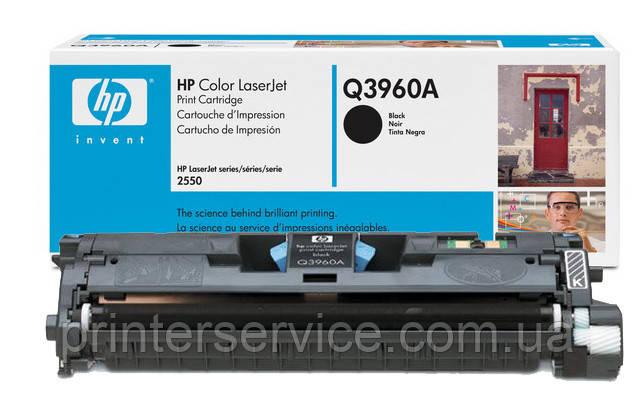 Картридж HP Q3960A (122A black) для цветных принтеров HP CLJ 2550, CLJ 2820, CLJ 2840