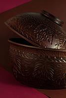 Хлебница глиняная
