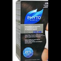 Фито крем-краска Phytocolor Colorations тон 4М (русо-каштановый)