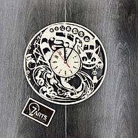 Настенные часы ручной работы «Аниме Studio Ghibli»