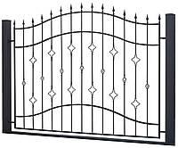 Сварной кованый забор 1800*2500  модель СГ-17