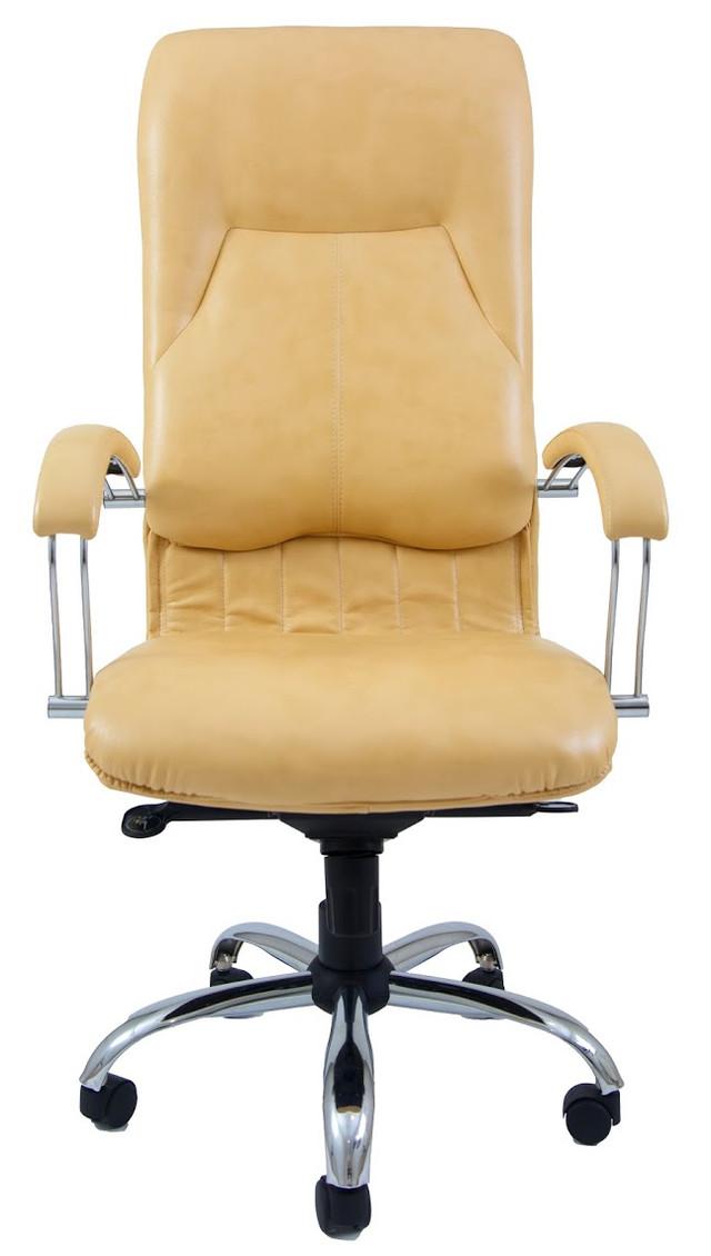 Кресло Никосия Хром желтый (фото 2)