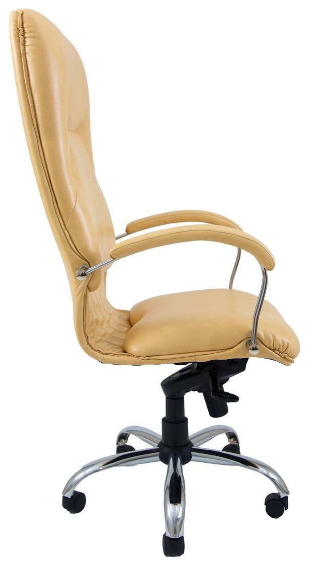 Кресло Никосия Хром желтый (фото 3)