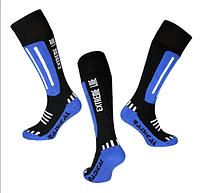 Лыжные носки Radical Extreme Line (original), зимние термоноски, для сноуборда, высокие Синий, 43-46
