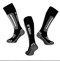 Лыжные носки Radical Extreme Line (original), зимние термоноски, для сноуборда, высокие Серый, 35-38