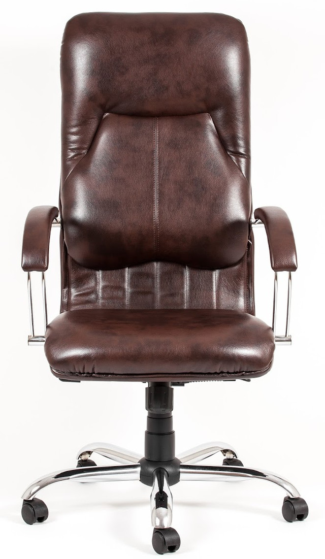 Кресло Никосия Хром коричневый (фото 2)