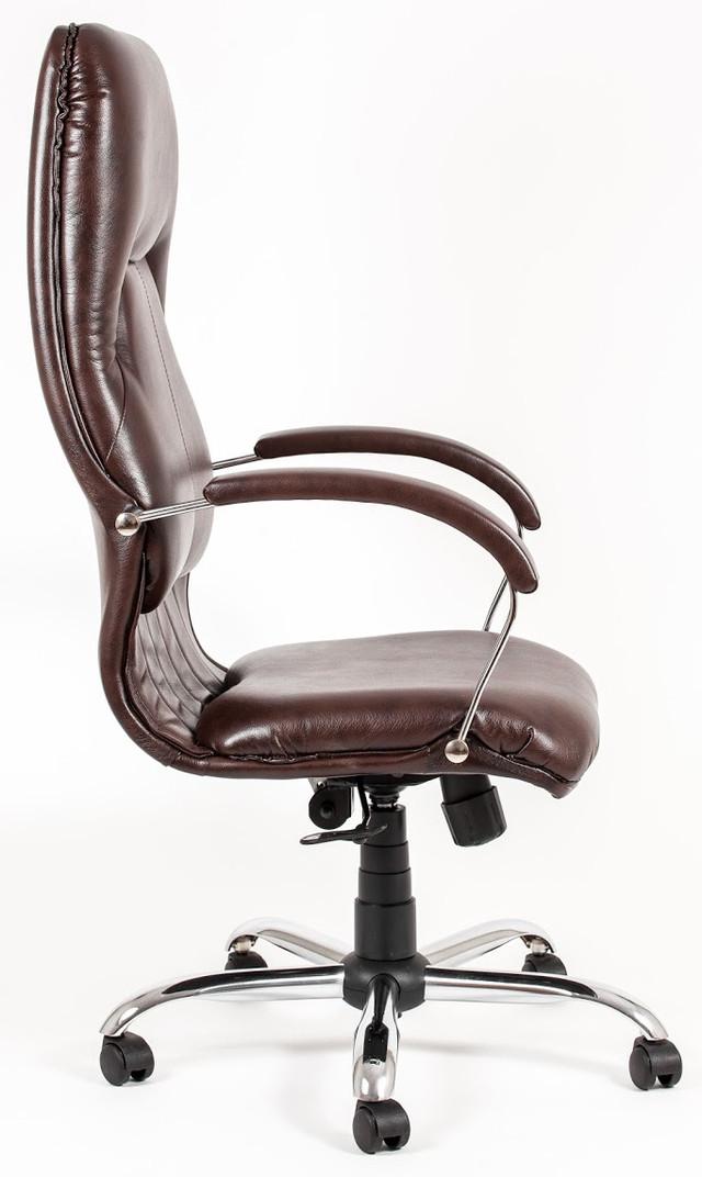 Кресло Никосия Хром коричневый (фото 4)