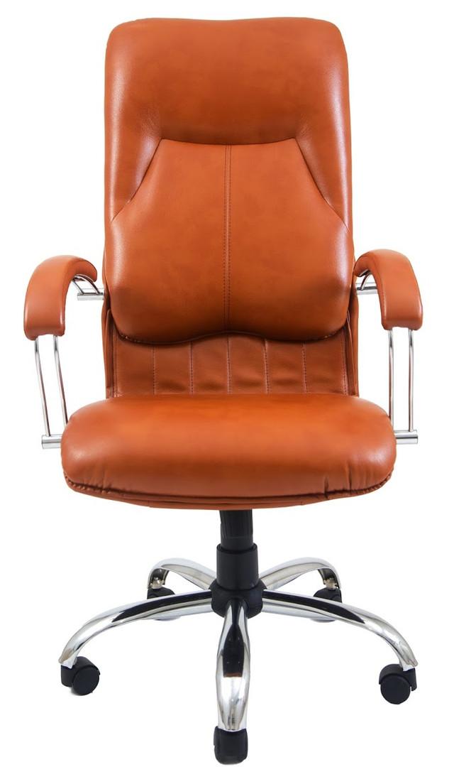 Кресло Никосия Хром оранжевый (фото 2)