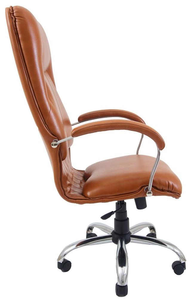Кресло Никосия Хром оранжевый (фото 3)