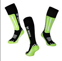 Лыжные носки Radical Extreme Line (original), зимние термоноски, для сноуборда, высокие Зеленый, 35-38