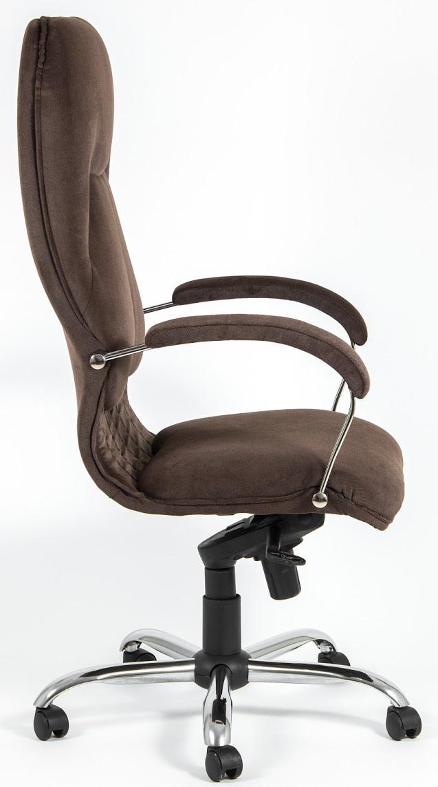 Кресло Никосия Хром ткань коричневая (фото 3)