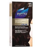 Фитоколор крем-краска PHYTO тон 4МС (шатен шоколадно-каштановый)