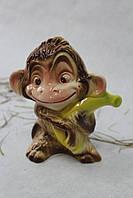 Копилка обезьяна с бананом