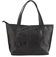Оригинальная симпатичная качественная сумка с эко кожи очень высокого качества B.Elite art. 02-51 змея черный