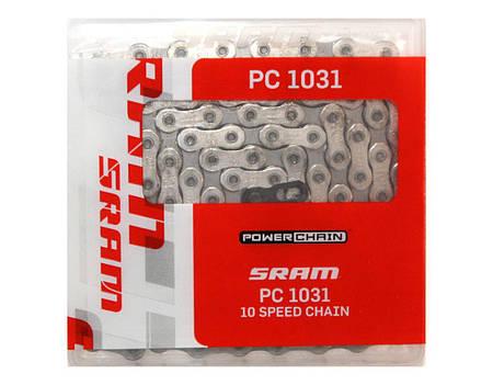 Цепь SRAM PC1031, 10 скоростей + замок PowerLock